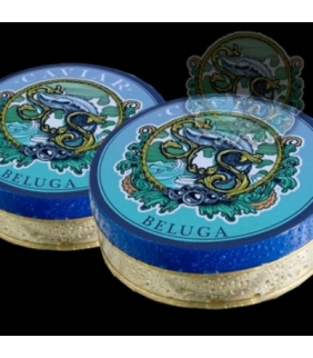 Caviar Beluga 000. Delicat gourmet