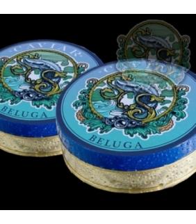 Caviar Beluga Imperial, 50gr. Sos. 1un. Delicat Gourmet
