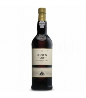 Dow's 20 Years Old Tawny Port 75cl. Porto Dow's. 3un.  Delicat Gourmet