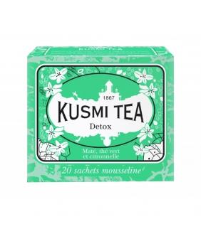 Detox Tea 20 Muslins. Kusmi Tea. 12un. Delicat Gourmet