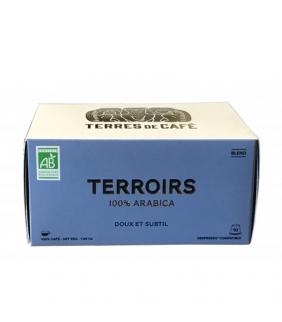 Terroirs Mezcla de Cafés BIO (10 Cápsulas). Terres de...
