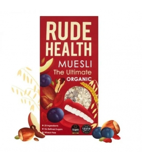 "Muesli ""The Ultimate"" BIO 500gr. Rude Health. 5 ud"