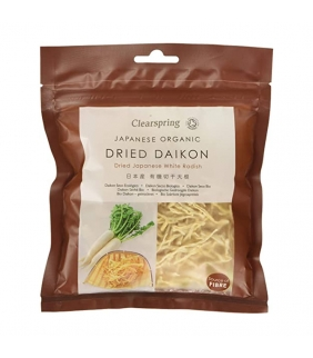 Daikon seco a tiras 40gr. Clearspring. 6ud. Delicat Gourmet