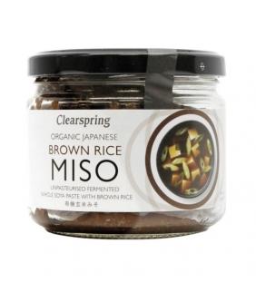 Genmai Miso 300gr. Clearspring 6ud.  Delicat gourmet