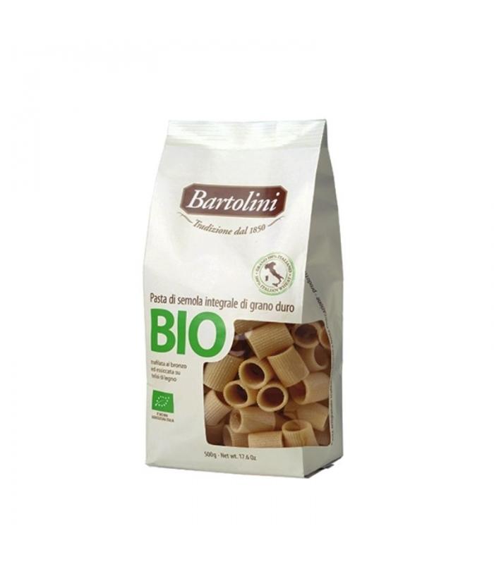 Mezze Maniche Integral 500gr. Bartolini. Delicat Gourmet