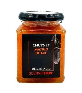 Chutney de mango dulce 250gr. Gourmet Leon. 12un. Delicat Gourmet